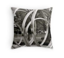 Circles within... Throw Pillow