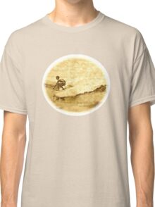 Sepia Surfer Classic T-Shirt