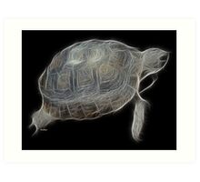 Medicine Wheel Totem Animals by Liane Pinel- Tortoise Art Print