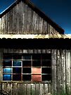 Barn Window by Marcia Rubin