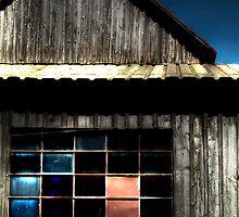 Barn Window by Marcia Rubin
