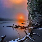 Sunset in the Cascades Suttle Lake by Charles &amp; Patricia   Harkins ~ Picture Oregon