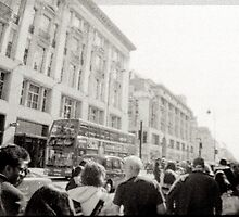OXford street london by grorr76