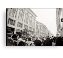 OXford street london Canvas Print