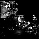 Las Vegas City Lights by Cleber Design Photo