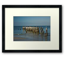 R and R........  the Southern Style Framed Print
