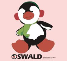 Oswald T. Penguin - T-shirt Kids Clothes