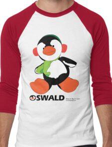 Oswald T. Penguin - T-shirt Men's Baseball ¾ T-Shirt
