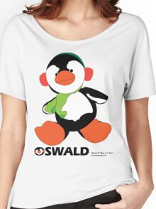 Oswald T. Penguin - T-shirt Women's Relaxed Fit T-Shirt