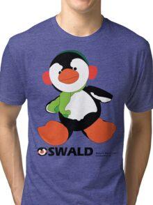 Oswald T. Penguin - T-shirt Tri-blend T-Shirt