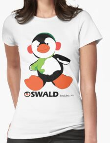 Oswald T. Penguin - T-shirt Womens Fitted T-Shirt