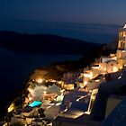 Oia at Dusk (2) by Mariano57