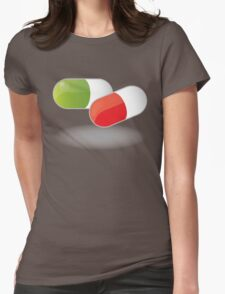 Drugs Womens Fitted T-Shirt