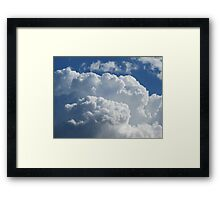 Anniversary Clouds Framed Print