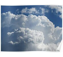 Anniversary Clouds Poster