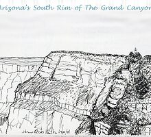 A GRAND Canyon sketch by James Lewis Hamilton