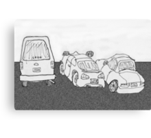The Parking Lot Canvas Print