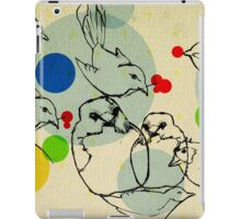 birds ink drawing iPad Case/Skin