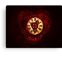 This Clockwork Heart of Mine Canvas Print