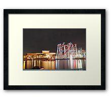 BATTLE STAR GALACTICA (U.S.S) Framed Print