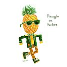 Pineapples are Hardcore by lupi