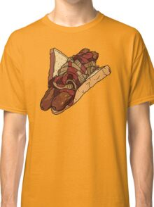 Snags: Two Snags with Onions and Sauce Classic T-Shirt