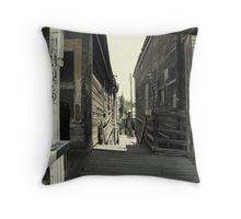 """Locke"" An Old Town  Throw Pillow"