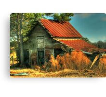 Caudell Road Barn Canvas Print