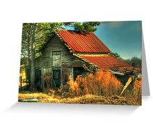 Caudell Road Barn Greeting Card