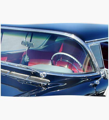 Voodoo Cadillac Poster