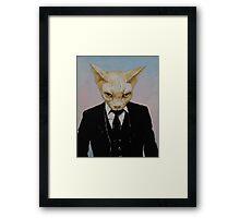 Mister Cat Framed Print