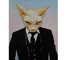 Mister Cat Photographic Print