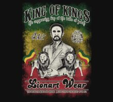 King Selassie  by Lionart