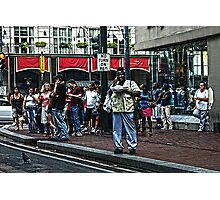 Canal Street Bustle Photographic Print