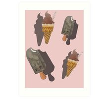 ICE CREAM! Art Print