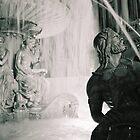 Vegas Fountain in Black & White by Christopher Hignite
