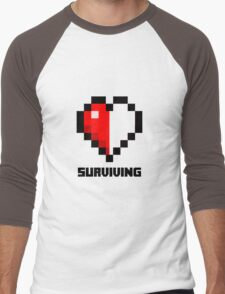 Gaming Heart Men's Baseball ¾ T-Shirt