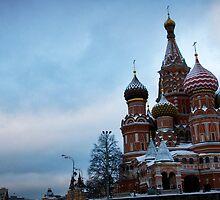 Kremlin, St Basils panorama by Daniel Berends