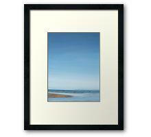 moonrise over browns bay Framed Print