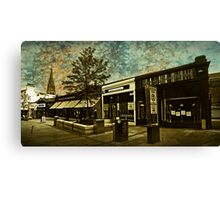 Commercial Street in Stirling Canvas Print