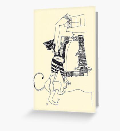Fragments d'arts #04 Greeting Card