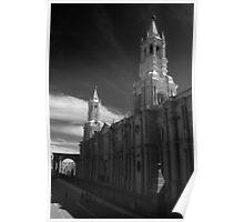 basilica cathedral arequipa peru Poster