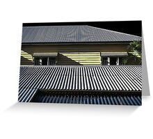 The Ubiquitous Tin Roof and the Queenslander - Aussie Icons Greeting Card