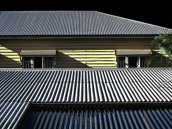 The Ubiquitous Tin Roof and the Queenslander - Aussie Icons by Neil Ross