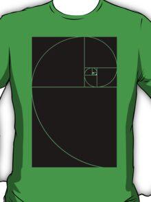phi ratio black T-Shirt