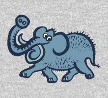 Big Blue Mammoth Kids Tee