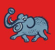 Big Blue Mammoth One Piece - Long Sleeve
