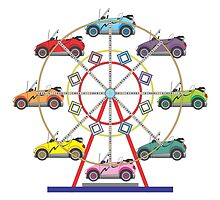 Eco Car Ferris Wheel by Graphxpro