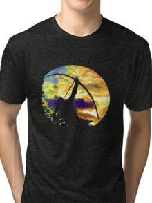 Sagittarius reaching out Tri-blend T-Shirt