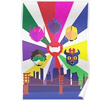 Heroes of San Fransokyo Poster